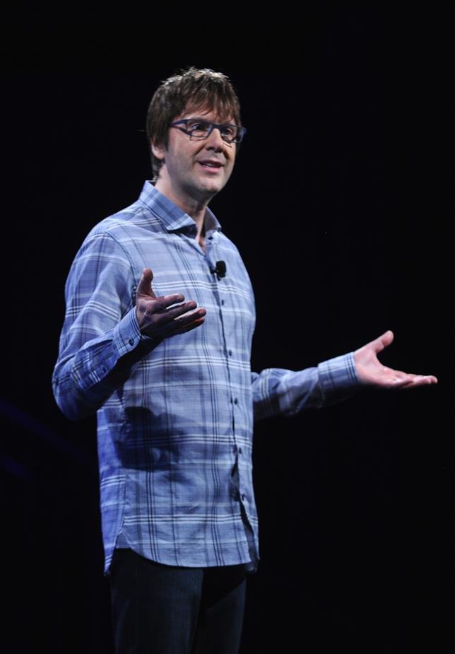 Mark Cerny all'evento PlayStation Meeting