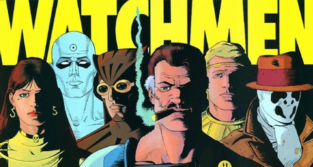 Immagine a colori di Watchmen