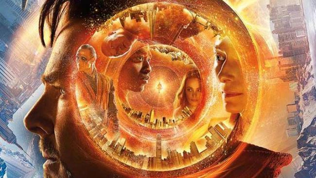 Il poster promozionale di Doctor Strange