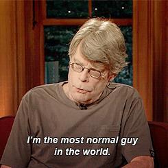 Stephen King parla di sè stesso