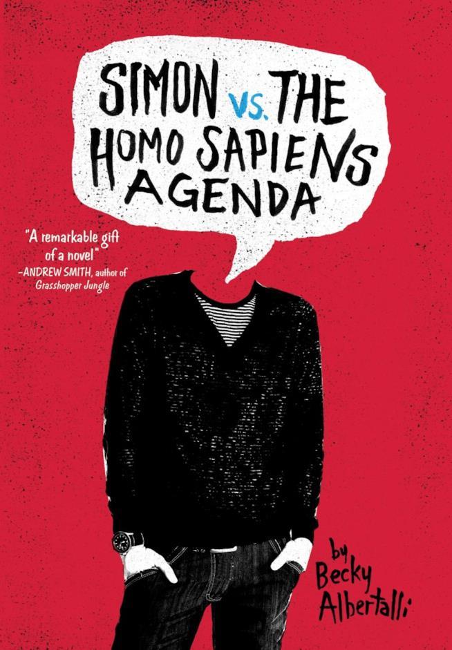 La copertina di Simon vs. the Homo Sapiens Agenda