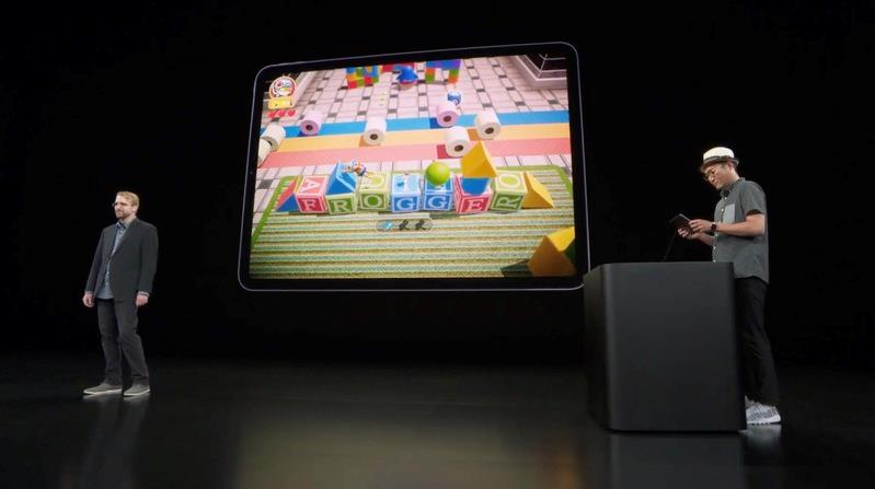 Screen di Frogger in Toy Town