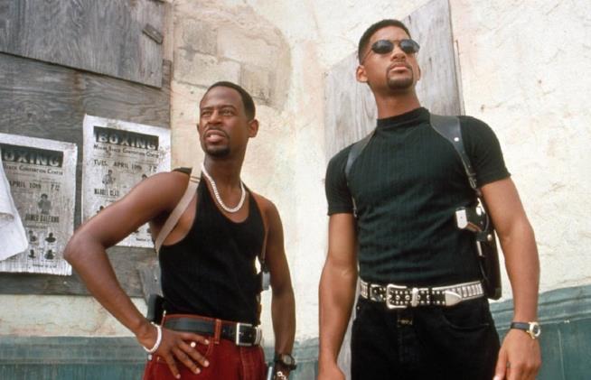 Martin Lawrence e Will Smith in una scena del primo Bad Boys