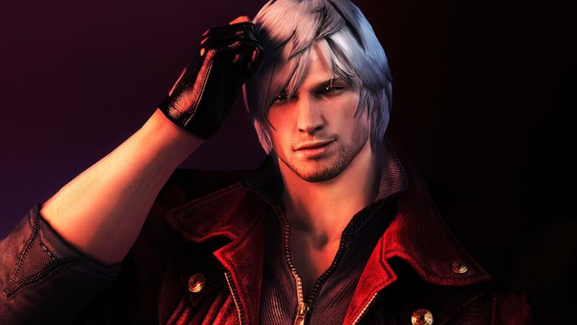 Dante, protagonista della serie Devil May Cry