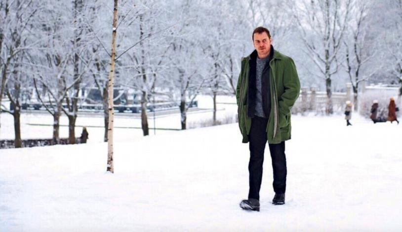 Una scena de L'uomo di neve