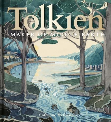 Copertina del libro Tolkien: Maker of Middle-Earth, contiene i disegni di J.R.R. Tolkien
