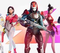 Immagine promozionale delle nuove skin di Fortnite introdotte con la Stagione 9