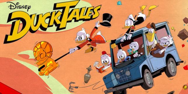 L'immagine promozionale di DuckTales