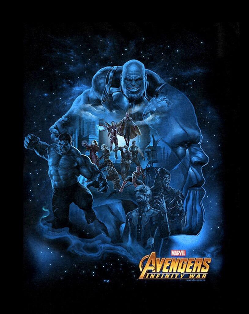 Thanos e Hulk in primo piano nel nuovo poster di Avengers: Infinity War