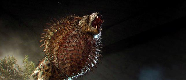 L'esemplare di Nundu in Animali fantastici e dove trovarli