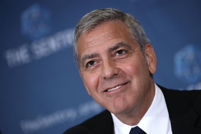George Clooney è felice all'idea di diventare papà