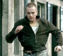 Mark Renton, primo piano in Trainspotting