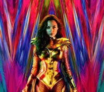 Il poster di Wonder Woman con Gal Gadot