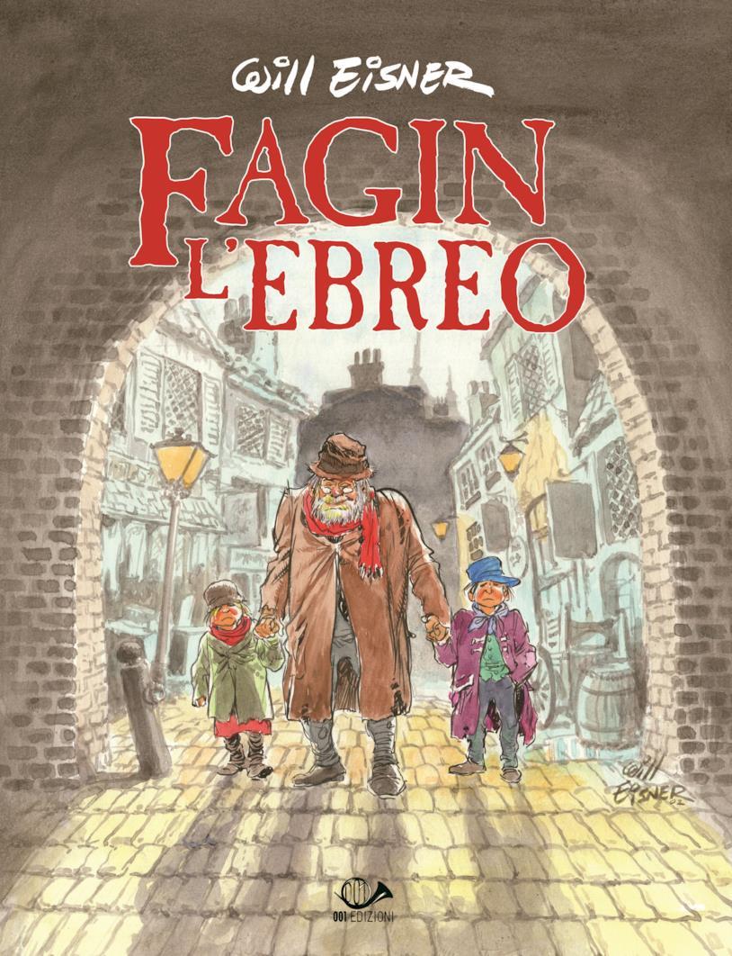 La cover di Fagin l'ebreo