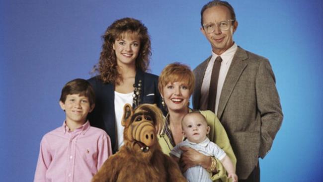 Alf e la famiglia Tanner della serie TV 1986-1990
