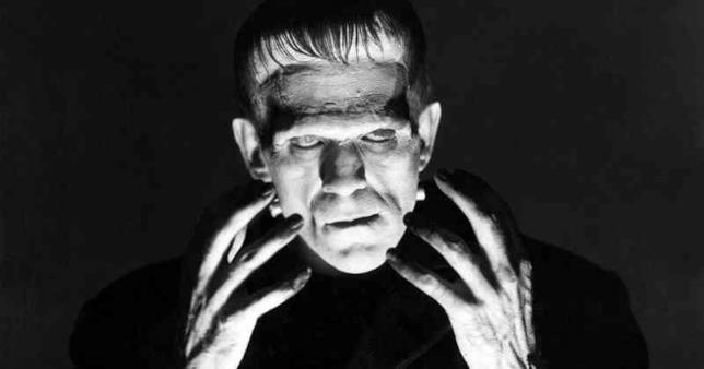 Boris Karloff è Frankenstein