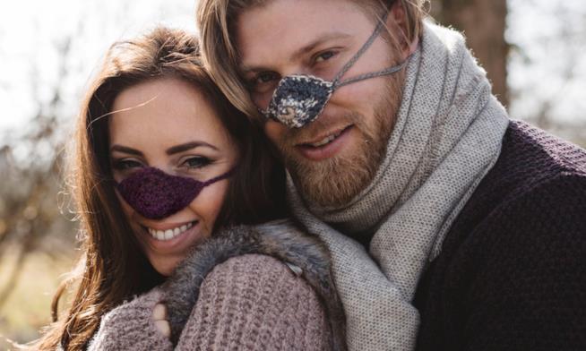 addio naso gelato: arriva lo scalda naso per i più freddolosi