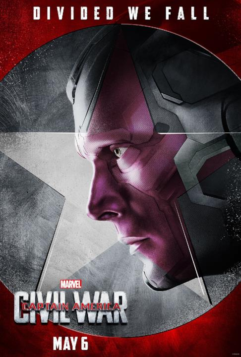 Vision sarà nel team di Iron Man in Captain America: Civil War