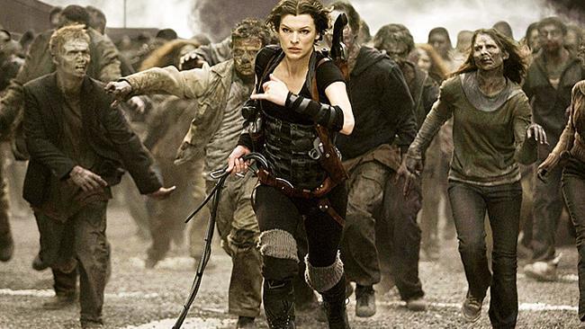 Milla Jovovich in Resident Evil 4