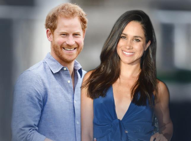 Fotomontaggio di Meghan Markle e il principe Harry