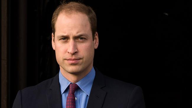 Il Principe William in una foto ufficiale
