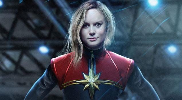 Una fanart di Captain Marvel interpretata da Brie Larson