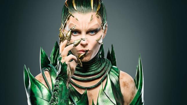 Rita Repulsa (Elizabeth Banks) reboot Power Rangers