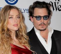 Amber Heard e Johnny Depp ai tempi del loro matrimonio