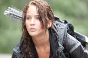 Jennifer Lawrence in Hunger Games