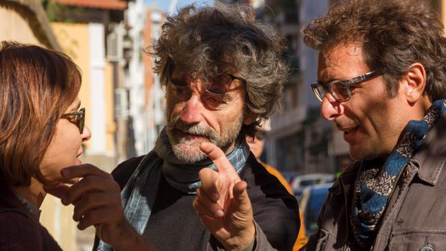 Silvio Soldini e i protagonisti del film