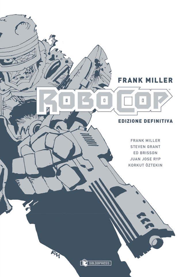 La copertina di Robocop di Frank Miller