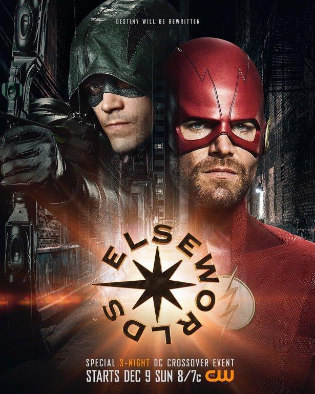 Elseworld, il crossover con The Flash, Arrow e Supergirl