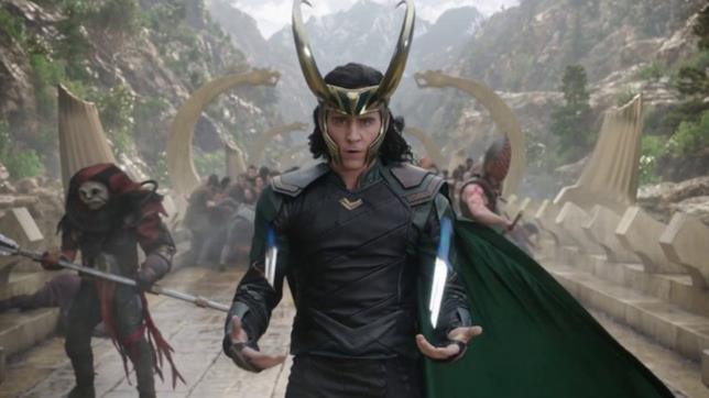 Una sequenza di Loki tratta da Thor: Ragnarok
