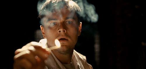 Leo DiCaprio in una scena del film
