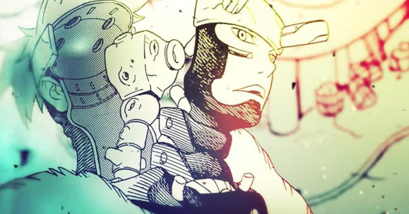 Samurai 8 manga fantascienza