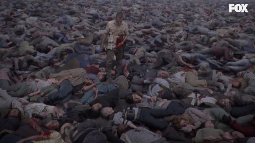 La scena onirica in cui Rick Grimes cammina tra i morti