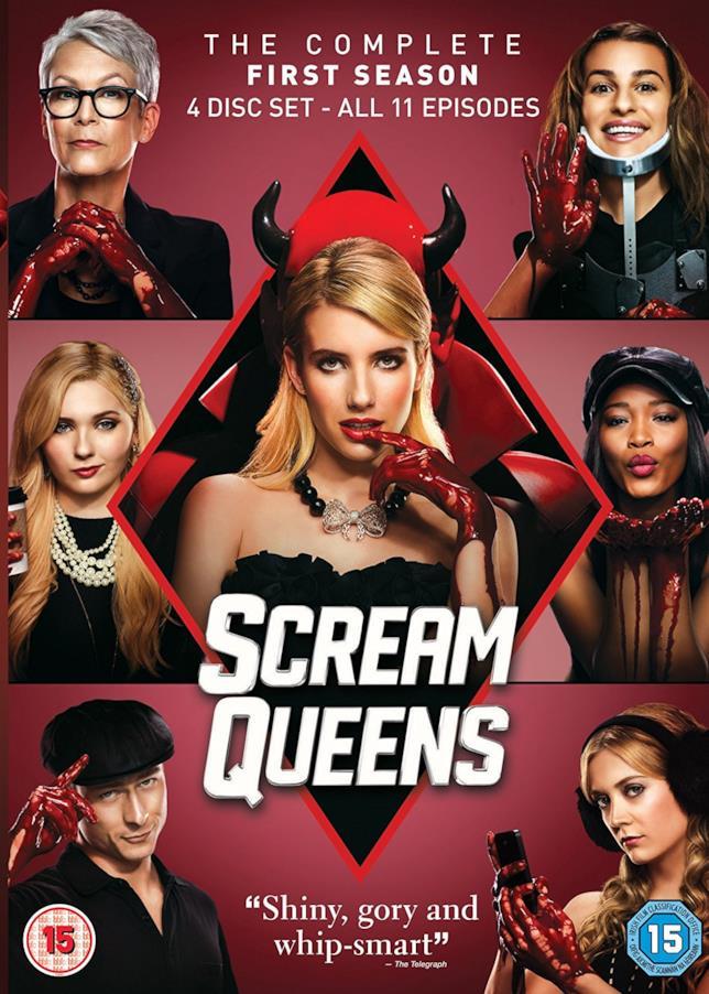 Il cofanetto della prima stagione di Scream Queens