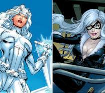 Silver Sable e Black Cat nei fumetti