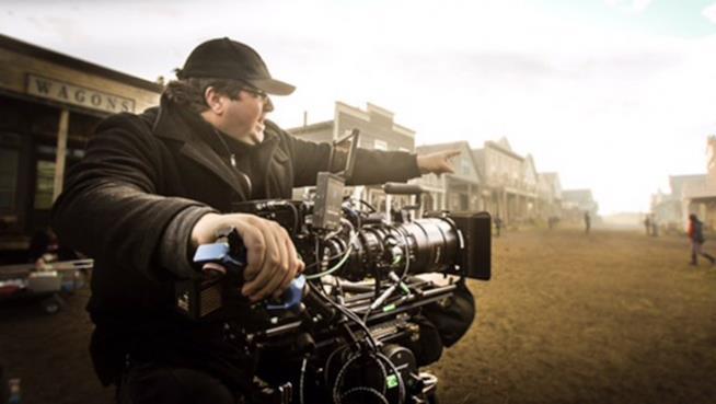 Roel Reiné sul set di uno dei suoi film