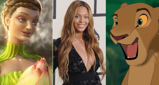 La Regina Tara, Beyoncé e Nala