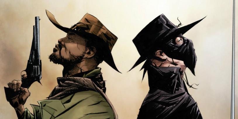 Il fumetto crossover Django/Zorro