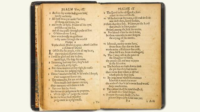 Il libro The Bay Psalm Book