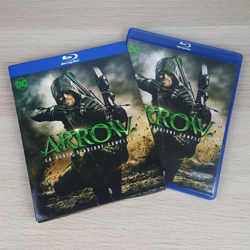 L'edizione in Blu-ray di Arrow 6
