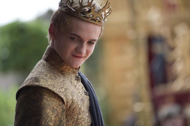 Lo sguardo del perverso Joffrey Baratheon