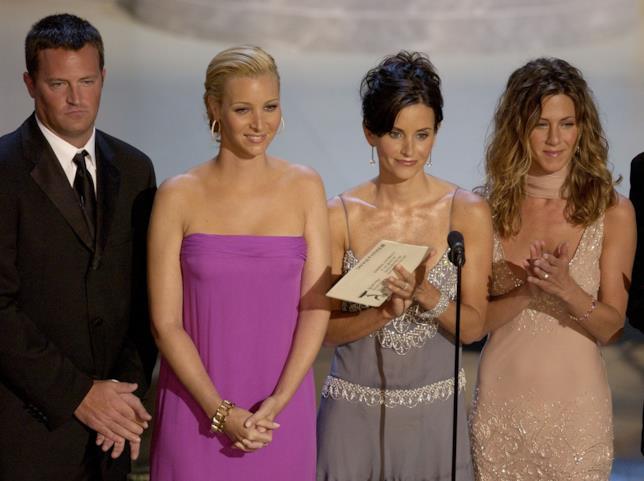 Alcuni membri del cast di Friends