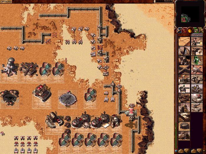 Dune 2000, uno dei videogiochi strategici dedicati alla serie di romanzi