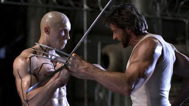 Deadpool vs Wolverine in X-Men Origins: Wolverine