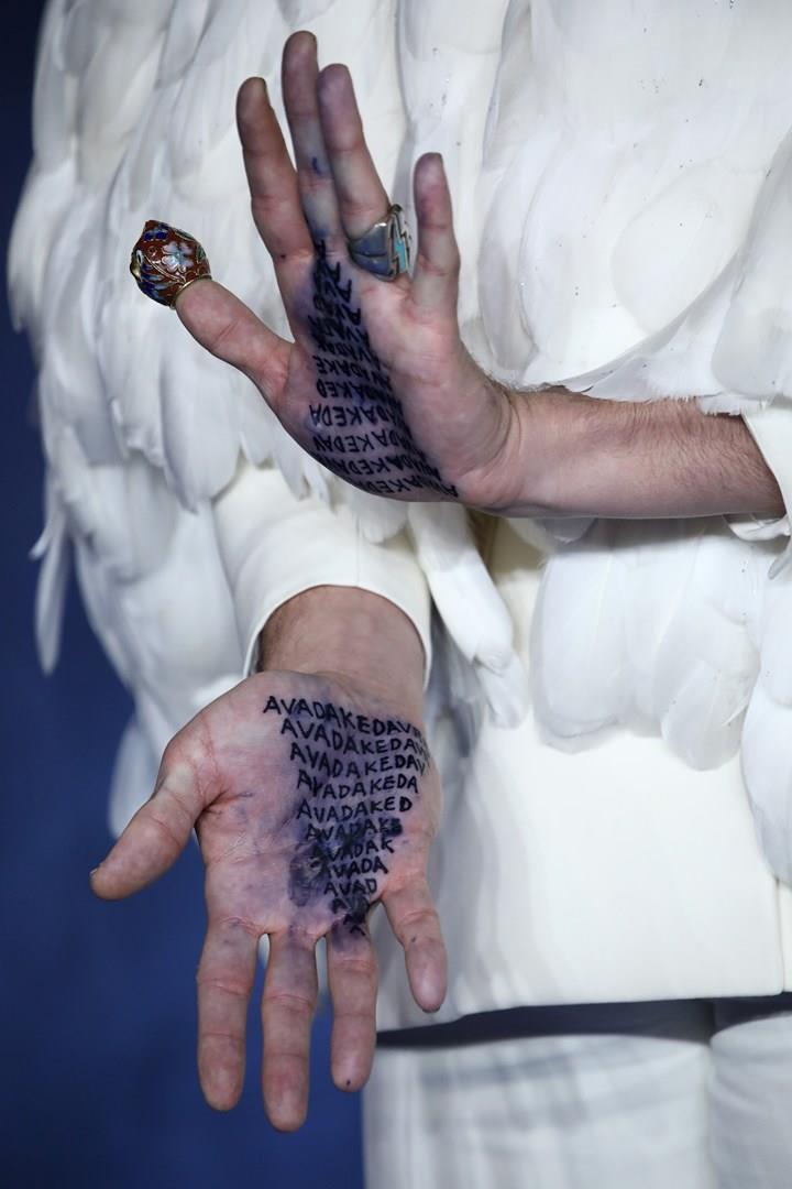 Sui palmi delle mani, l'Avada Kedavra