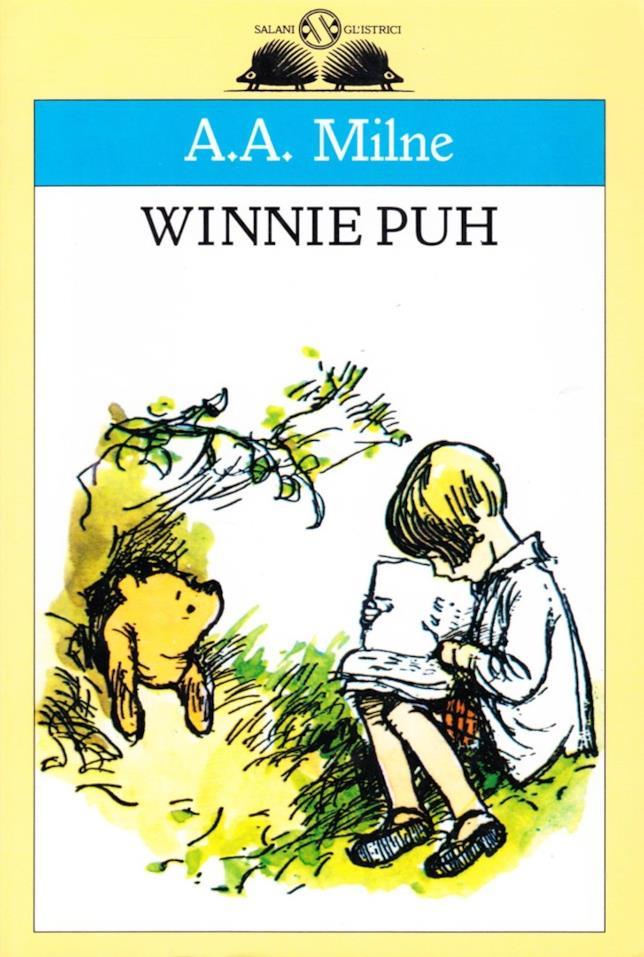 Copertina italiana di Winnie Puh