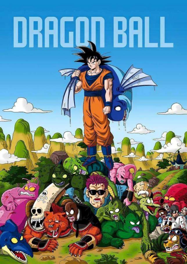 Goku kills